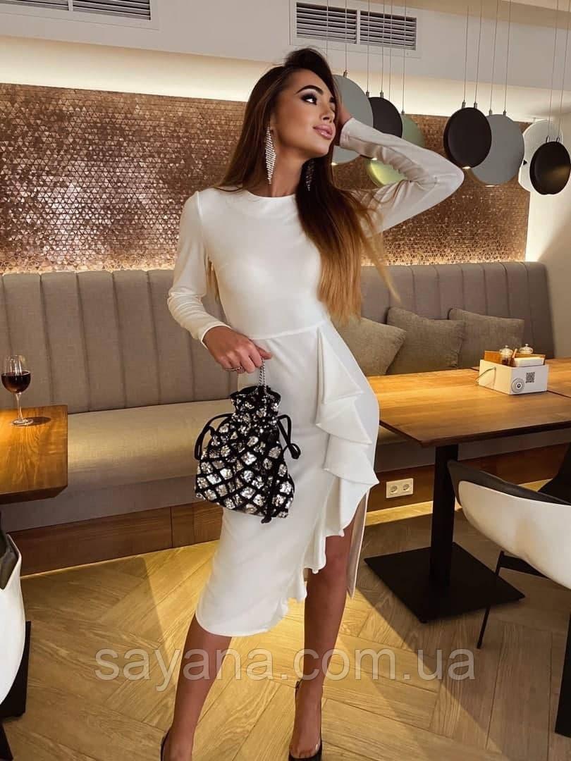 Женское трикотажное платье АГ-3-1120