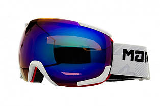 Маска гірськолижна Marker MAP Clarity Mirror L White