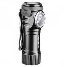 Ліхтар Fenix LD15R (Cree XP-G3 + Red LED, 500 люмен, 7 режимів, 1х16340, USB, чорний