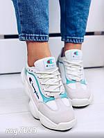 Светлые замшевые кроссовки 38 размер, фото 1