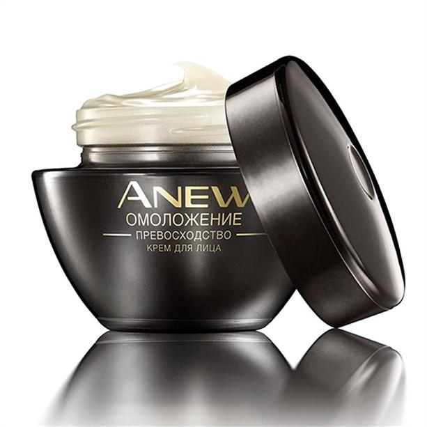 Нічний омолоджувальний гель для обличчя з мінералами Anew Ultimate 7S