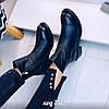Зимние кожаные ботинки 36 размер