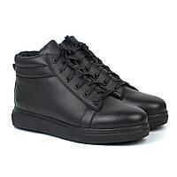 Зимние ботинки мужские кожаная обувь на меху Rosso Avangard Bridge Sleep, фото 1