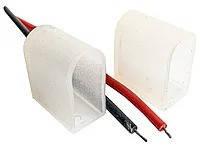 Монтажний комплект для світлодіодного неону 6мм 12V #54/2 (2 заглушки та 2 проводи) AVT