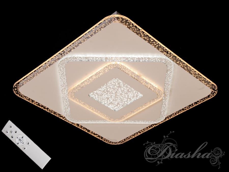Потолочная квадратная люстра  с диммером MX2230-500-Q dimmer