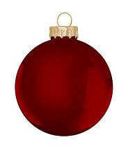 """Елочные шарики 6 шт., """"House of Seasons"""" комплект, цвет красный, фото 3"""