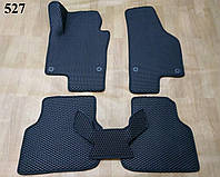 Коврики на Volkswagen Jetta VI '10-19 (ЕВРОПЕЕЦ). Автоковрики EVA, фото 1