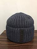 Зимняя мужская шапка, фото 2