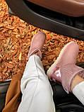 🔥 Женские угги Ugg Classic Mini II Metallic Dusk (классик мини металлик пастельные розовые), фото 3
