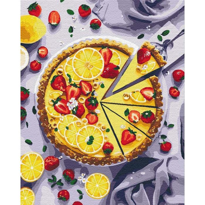 Картина по номерам Лимонный пирог ТМ Идейка 40 х 50 см КНО5594