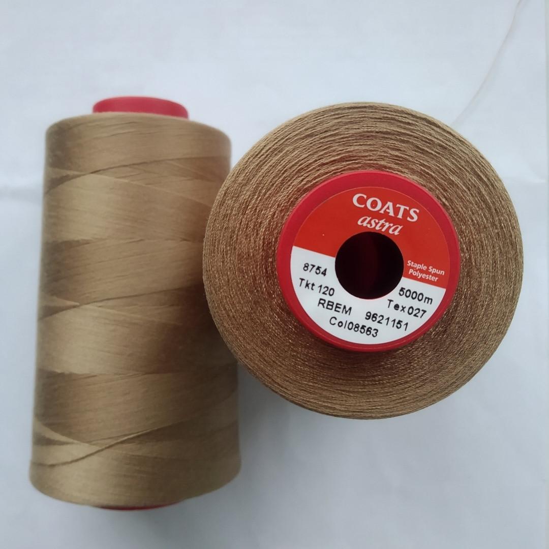 Нитки Coats Astra 08331/ 120, 5000м