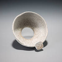 Чайный фильтр из грубой глины с тонким ситечком, фото 2