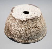 Чайный фильтр из грубой глины с тонким ситечком, фото 3