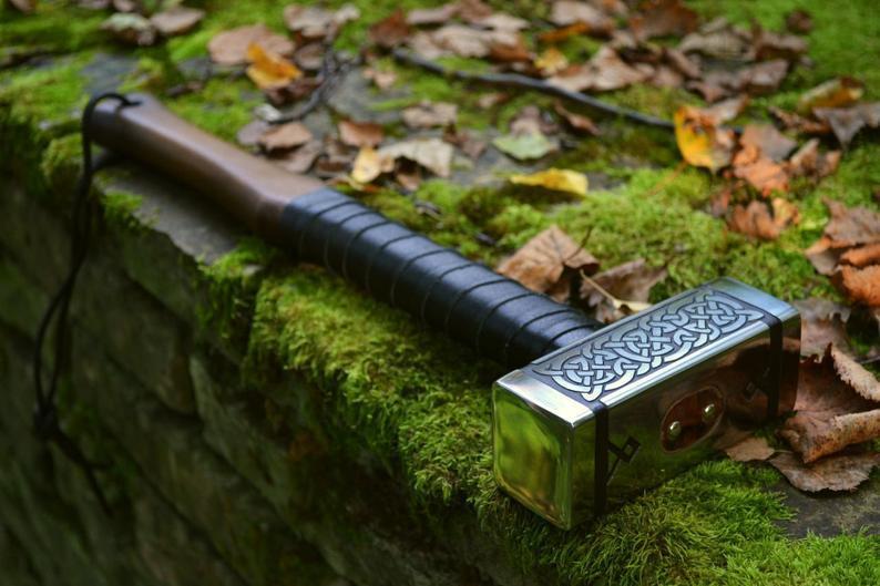 Молот Тора подарунок чоловіку ручної роботи Ancientsmithy оригінальній подарунок чоловіку