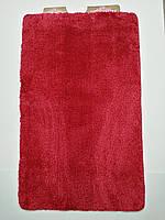 Килимки в ванну і туалет, набір 100*60 Vonaldi червоний, фото 1