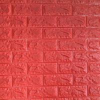 Декоративна самоклеюча стінова 3D панель (3D шпалери) Wall Sticker New ECO під цеглу з ПП, ПВХ миється,