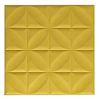 Декоративна самоклеюча стінова 3D панель (3D шпалери) Wall Sticker New ECO з ПП, ПВХ миється,