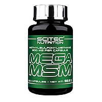 Комплекс для суставов и связок Mega MSM Scitec Nutrition (100 капс.)
