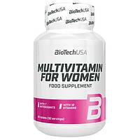 Витамины для женщин Multivitamin for Women BioTech 60 таблеток