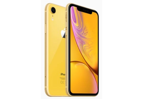 Смартфон iPhone XR 3/128gb Yellow  Apple A12 2940 мАч