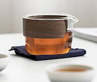 Чайний набір портативний складаний 3 чашки 150 мл, фото 2