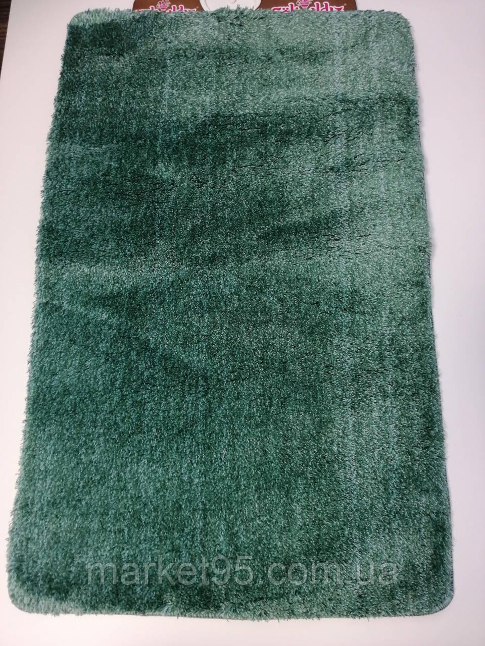 Килимки в ванну і туалет, набір 100*60 Vonaldi зелений