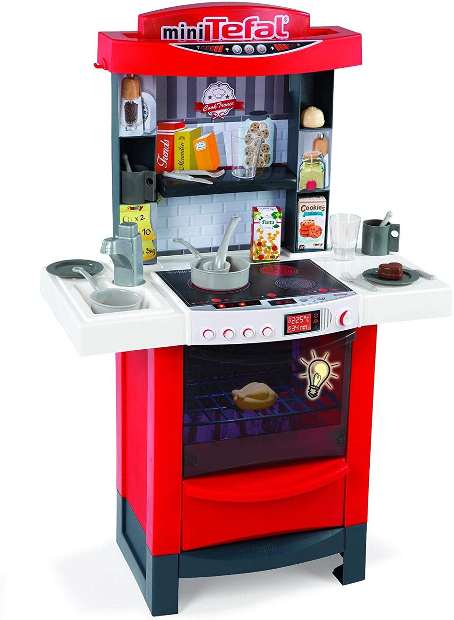 Интерактивная кухня Smoby Тефаль Мастер Шеф  311501