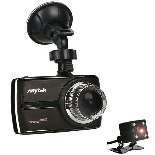 Відеореєстратор з записом звуку Car DVR Anytek G66 3.5 IPS G-Sensor IMX323 (3930-11403)