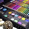 Большой набор для детского творчества и рисования Super Mega Art Set Black 168 предметов (3962-11497), фото 2