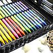 Большой набор для детского творчества и рисования Super Mega Art Set Black 168 предметов (3962-11497), фото 3