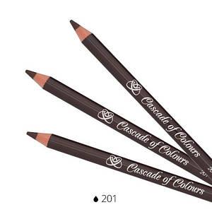 Карандаш для век Cascade of Colours 201 1.14 г Коричневый (102-201)
