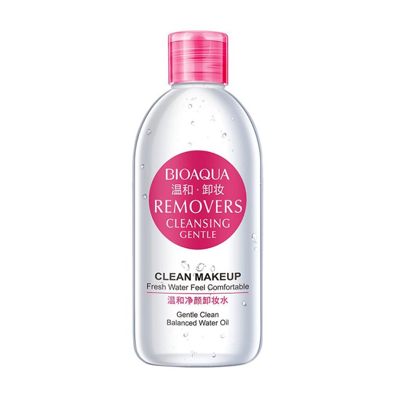Ремувер для снятия макияжа на основе розовой воды BIOAQUA  Removers Cleansing Gentle 250 мл (5554-18418)