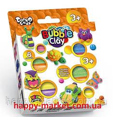 """Маса для ліплення кулькова """"Bubble Clay 8 кольорів"""" BBC-04-01U"""