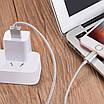 Кабель Hoco U16 Lightning-USB магнитный коннектор Silver (3101-9672), фото 6