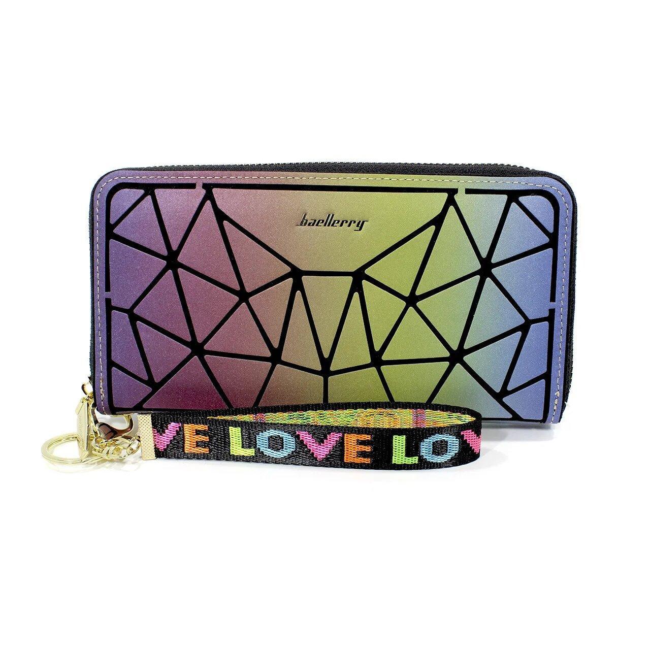 Жіночий гаманець клатч Baellerry N2823-1 Різнобарвний (4197-11941)