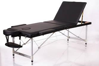 Складной массажный стол 3 секции кушетка складная переносная для массажа для наращивания ресниц RESTPRO ALU 3