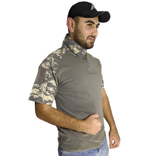 Тактична футболка з коротким рукавом ESDY A416 розмір M ACU Камуфляж (4251-12487)
