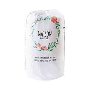 """Мешок для хранения одеял Lesko Blanket bag PEVA DR-230 Венок """"Maison"""" 83*40 см (5061-16278)"""