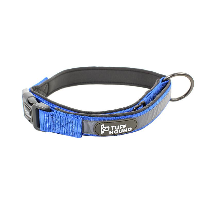 Нашийник для собак TUFF HOUND 1427 Blue XS з утяжкой (5323-16486)