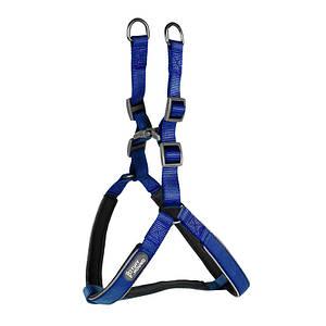 Шлея для собак TUFF HOUND 1606 Blue S нейлоновая (5321-16615)
