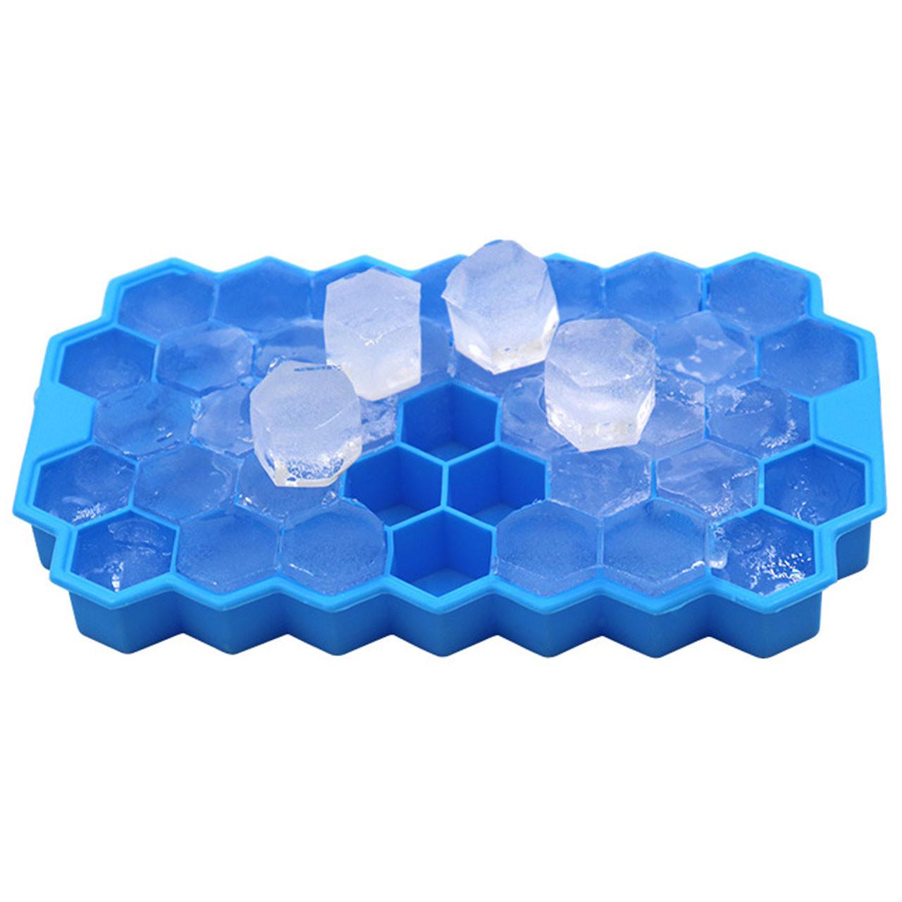 Силиконовая форма для льда CUMENSS Соты Blue (3474-10097)