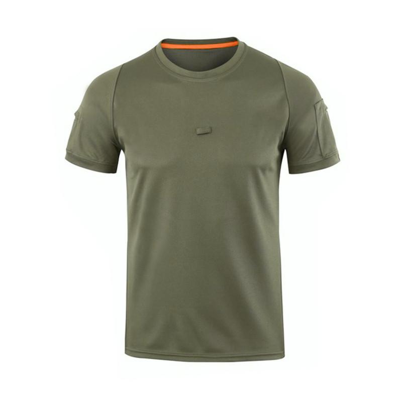 Тактична футболка поло з коротким рукавом ESDY A825 Green M (4852-15949)