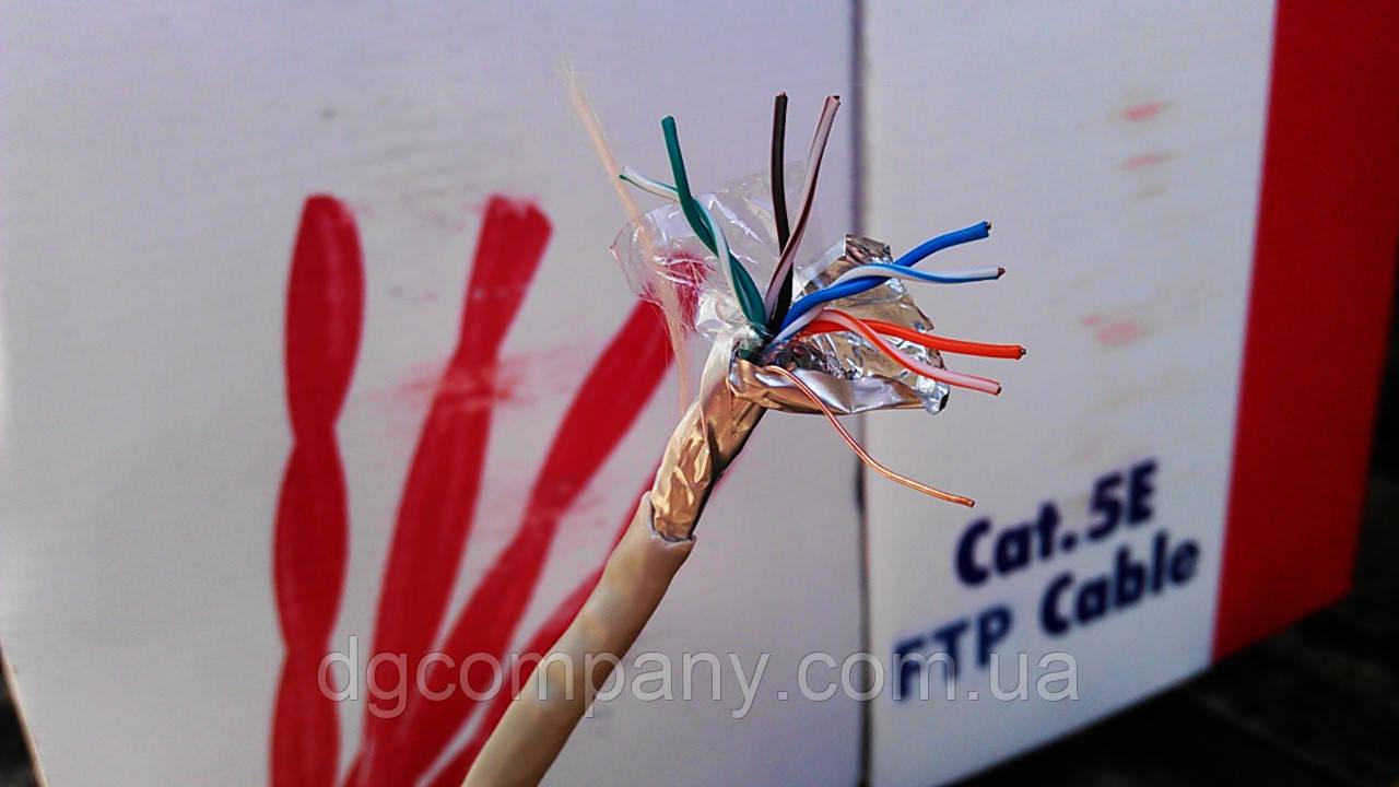 Кабель витая пара FTP KW-Link внутренняя,медная,305м