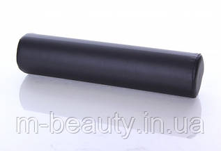 Валик для массажного стола круглый массажный  валик черного цвета  RESTPRO