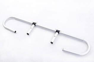 Подставка - Держатель для одноразовых рулонов для массажных столов RESTPRO цвет серебро