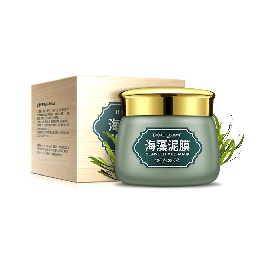 Грязьова Маска для обличчя з морськими водоростями BIOAQUA Seaweed Mud Mask (120г) (4544-13414)