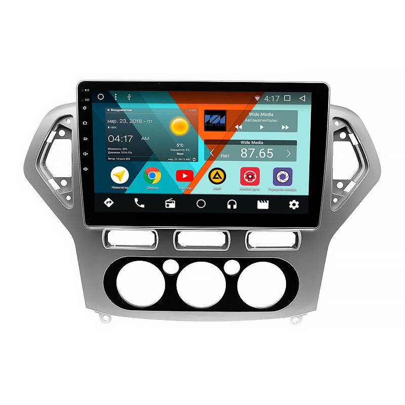 "Штатна автомобільна магнітола 10"" Ford Mondeo 2007-2010рр. пам'ять 1/16 GB Can модуль GPS Android"