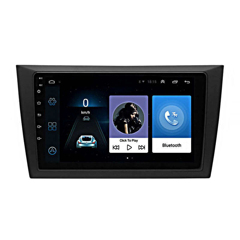 "Штатная магнитола 9"" Volkswagen Golf 6 2008-2012гг. память 1/16 GB GPS Android (5607-16737)"