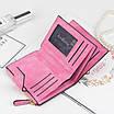 Женский кошелек Baellerry N2347 замшевый Pink (3536-10250), фото 4
