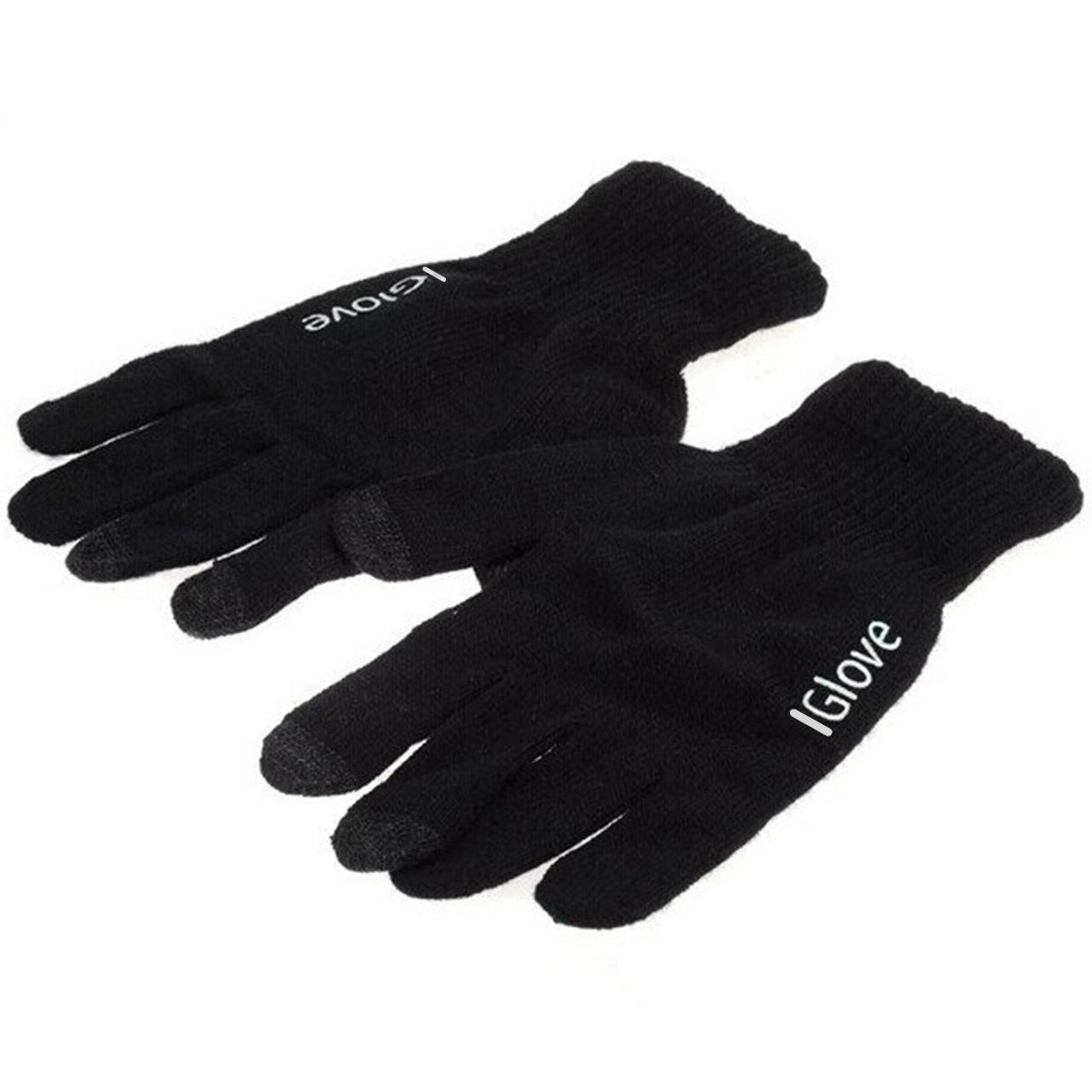 Рукавички iGlove для сенсорних екранів Black (3571-10426)